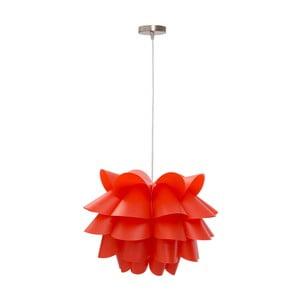 Červené závesné svietidlo Mauro Ferretti Push