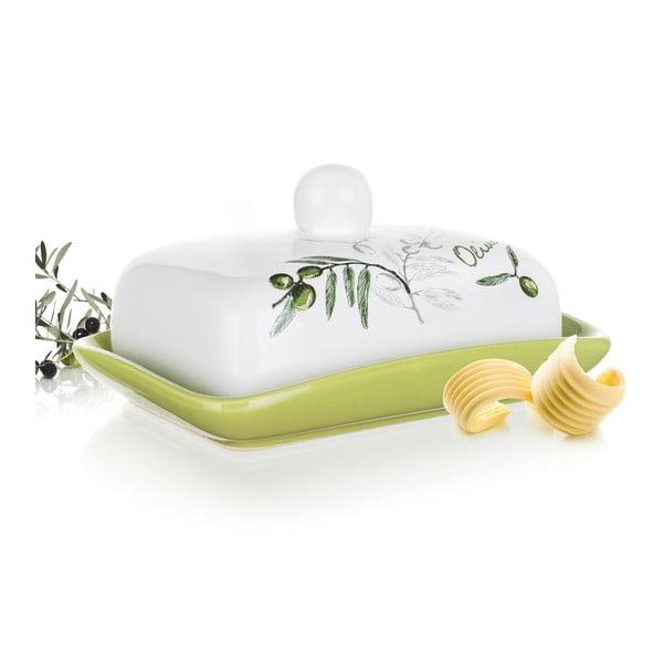 Keramická nádoba na maslo Banquet Olives