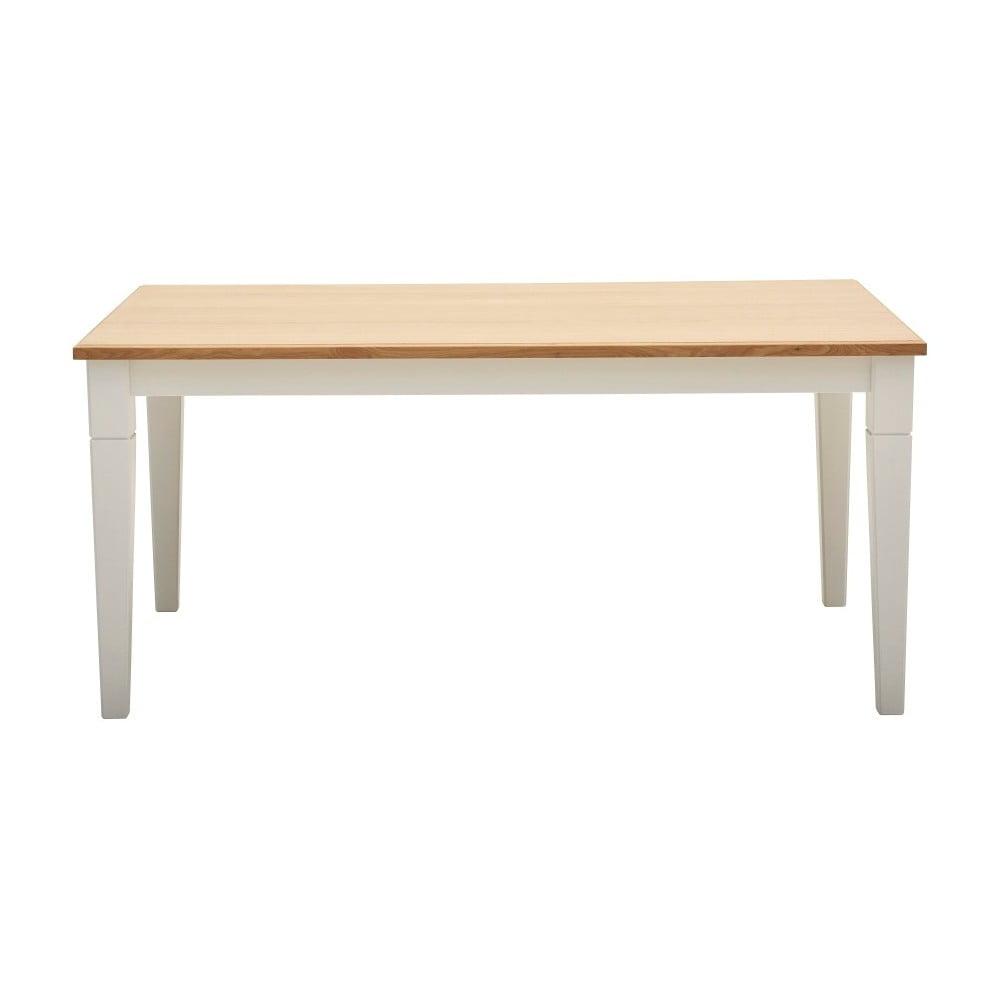 Jedálenský stôl z dubovej dyhy Artemob Cristina, dĺžka 160 cm