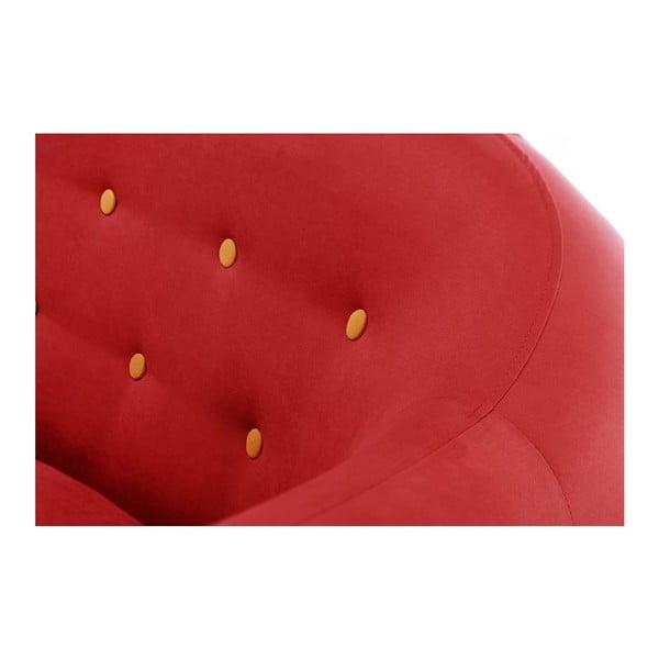 Pohovka Constellation Red s leňoškou na pravej strane