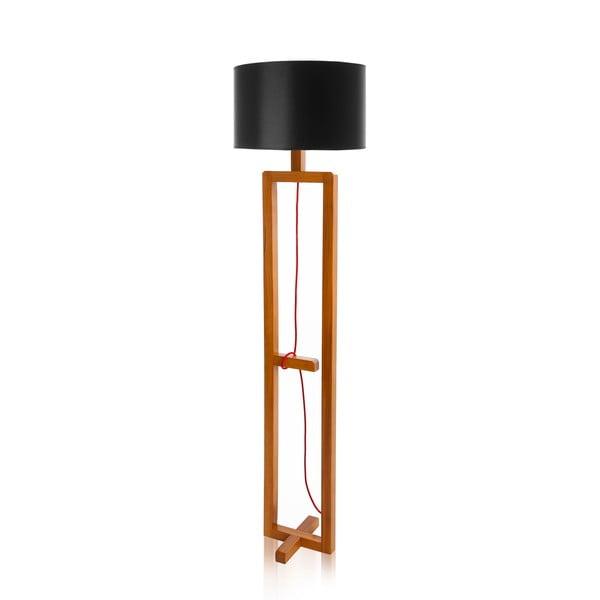 Stojacia lampa Dal Black Walnut