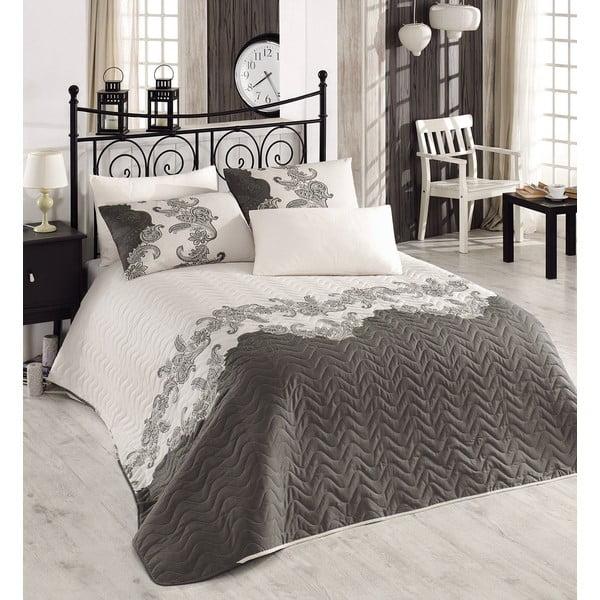 Sada prešívanej prikrývky na posteľ a jedného vankúša Single 309, 160x220 cm