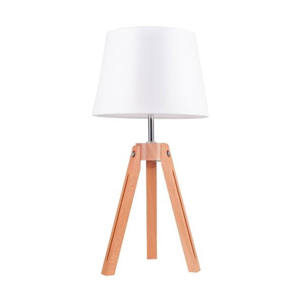 Stolová lampa Tripod Britop, biela