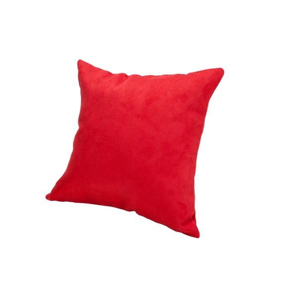 Vankúš z mikrovlákna Pillow 40x40 cm, jahodový