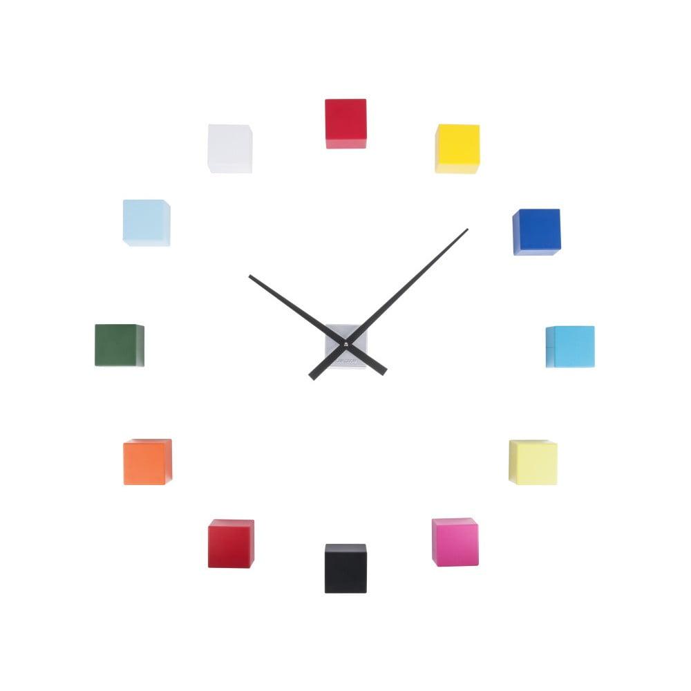 Barevné nástenné hodiny Karlsson Do It Yourself