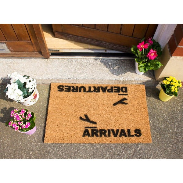Rohožka Artsy Doormats Arrivals and Departures, 40 x 60 cm