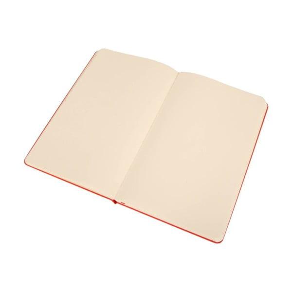Zápisník Memories Red, čistý