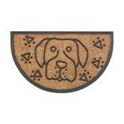 Rohožka Hamat Dog halfround, 45x75cm