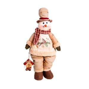 Stojaca figúrka snehuliaka Unimasa Snowman, výška 46 cm