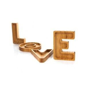 Sada 4 misiek Bambum LOVE
