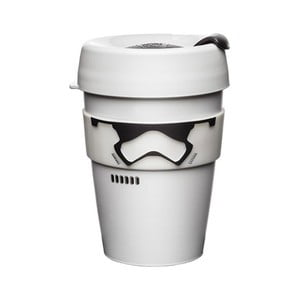 Cestovný hrnček s viečkom KeepCup Star Wars Stormtropper Brew, 340 ml