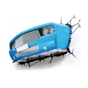 Nástenné svetlo s nálepkou Tnet Blue Muscle Car