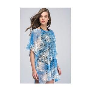 Svetlomodrá dámska letná tunika z čistej bavlny NW