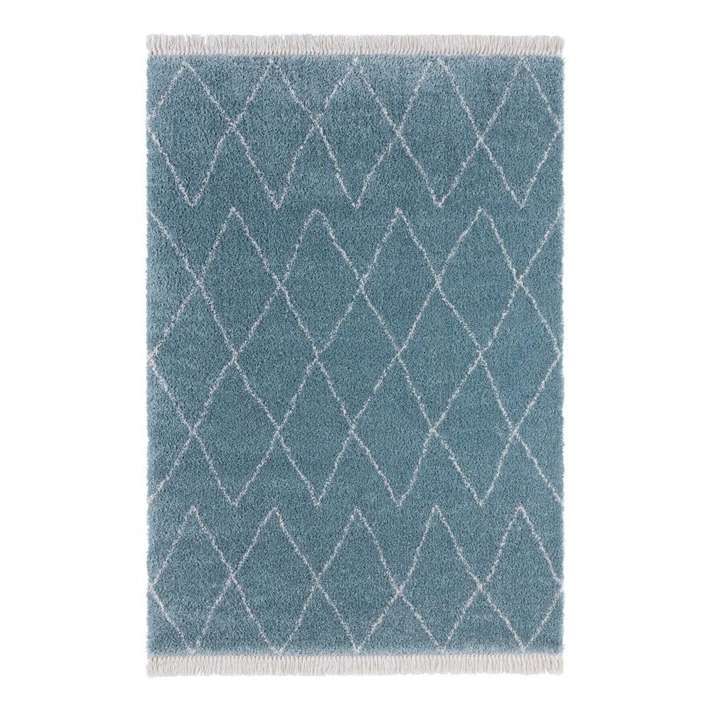 Modrý koberec Mint Rugs Galluya, 80 x 150 cm