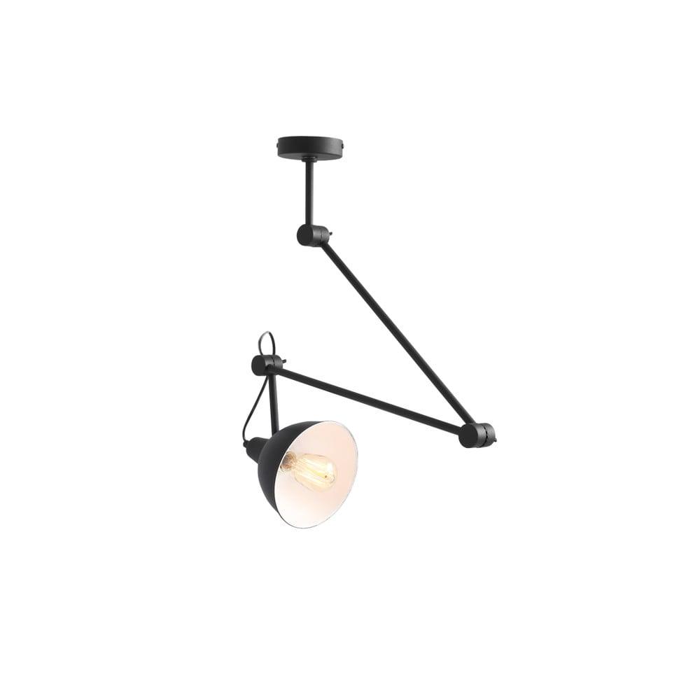 Čierne závesné svietidlo Custom Form Coben