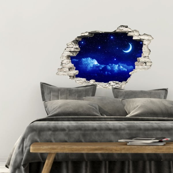 Samolepka Ambiance Moonlight, 60×90 cm