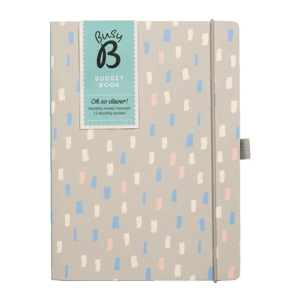 Kniha na zapisovanie financií Busy B Budget Book
