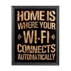 Ceduľa na stenu Wifi