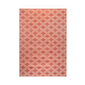 Ružový koberec White Label Feike, 160 x 230 cm
