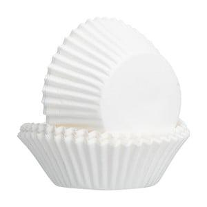 Sada 50 ks bielych papierových košíkov Mason Cash Baking