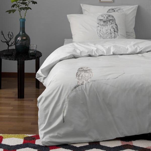 Obliečky Case Hiboux Grey, 140x200 cm