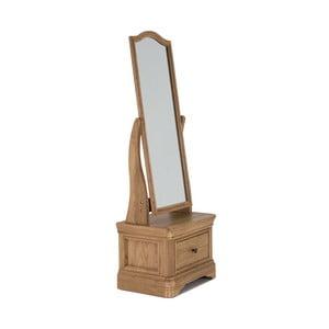 Stolové zrkadlo z dubového dreva VIDA Living Carmen