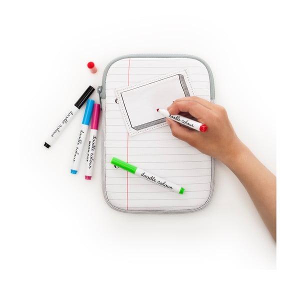 Obal na iPad mini na vymaľovanie Doodle