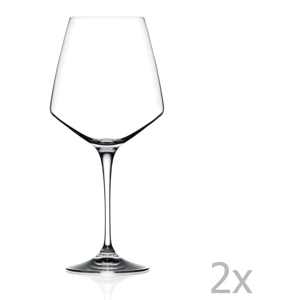 Sada 2 pohárov na víno RCR Cristalleria Italiana Celia