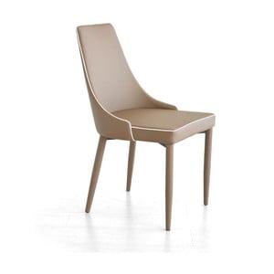 Jedálenská stolička Plana, capuuccino