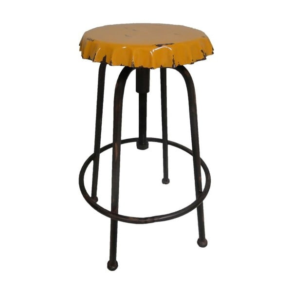 Kovová stolička Antic Line Capsule Jaune