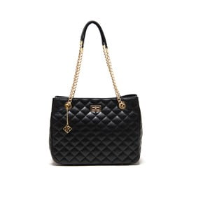 Čierna kožená kabelka Isabella Rhea no. 2055
