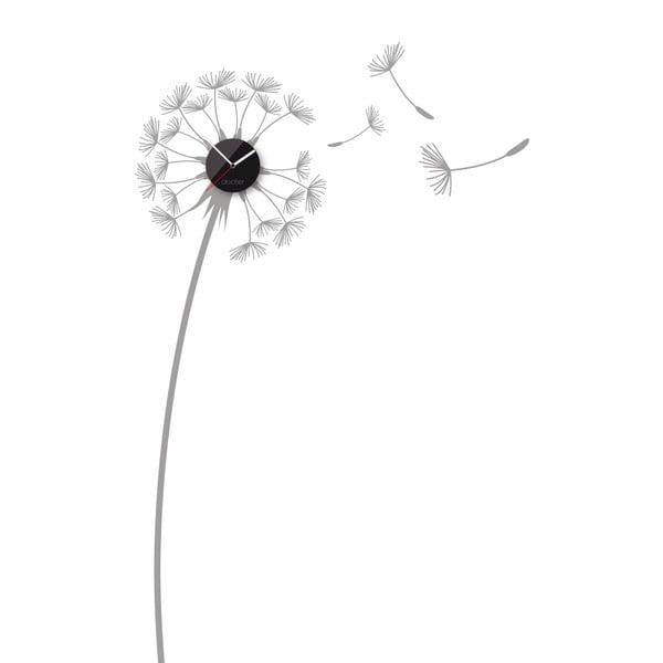 Hodiny so samolepkou Dandelion