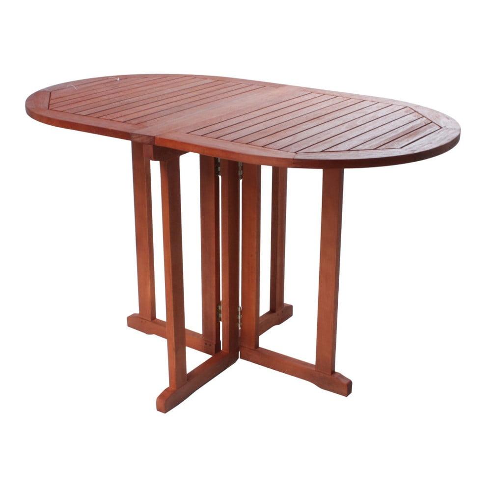 Balkónový variabilný stôl z eukalyptového dreva ADDU Baltimore Egg