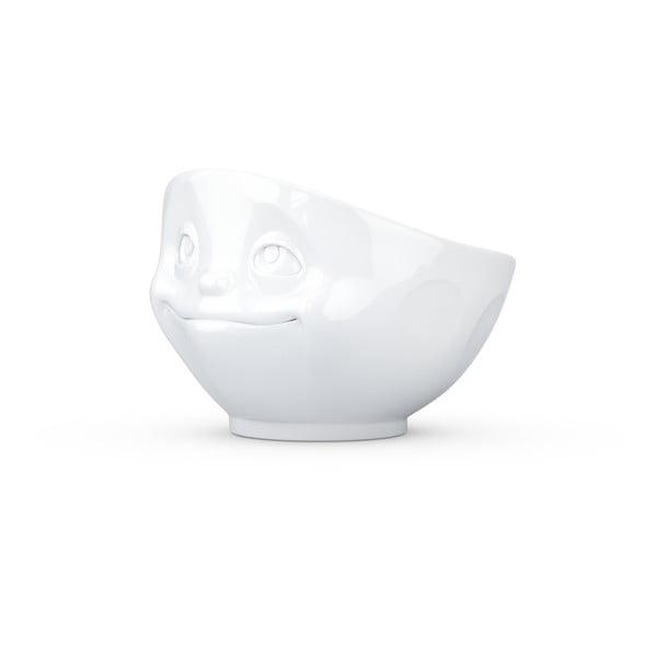 Biela porcelánová zamilovaná miska 58products