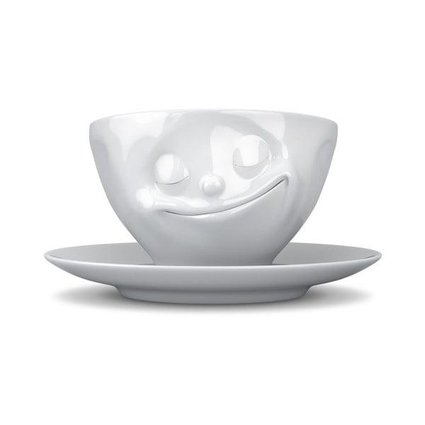 Biely šťastný hrnček na kávu 58 products