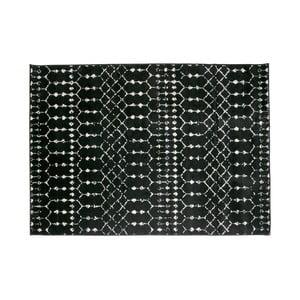 Čierny koberec WOOOD Sansa, 170×240 cm