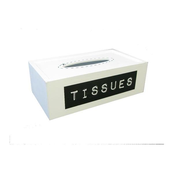 Box na vreckovky Tissue Label