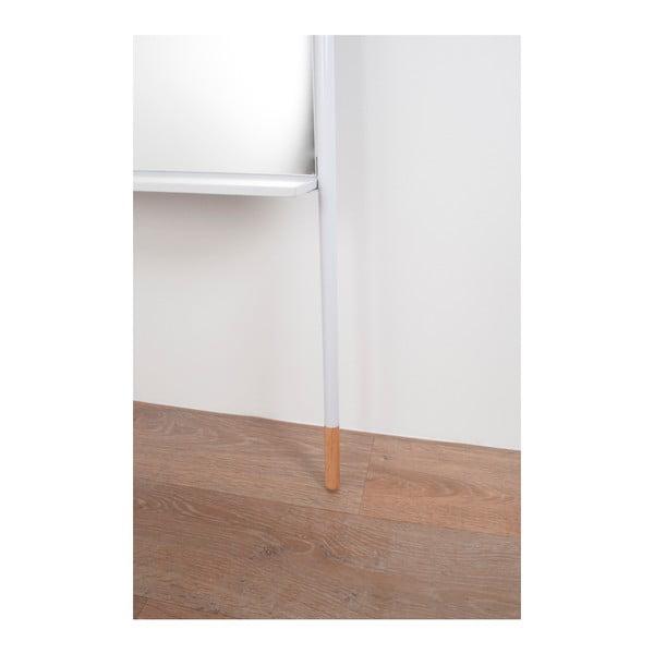 Biele zrkadlo Zuiver Leaning, dĺžka171 cm