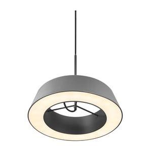Závesné svetlo Orbit, sivé