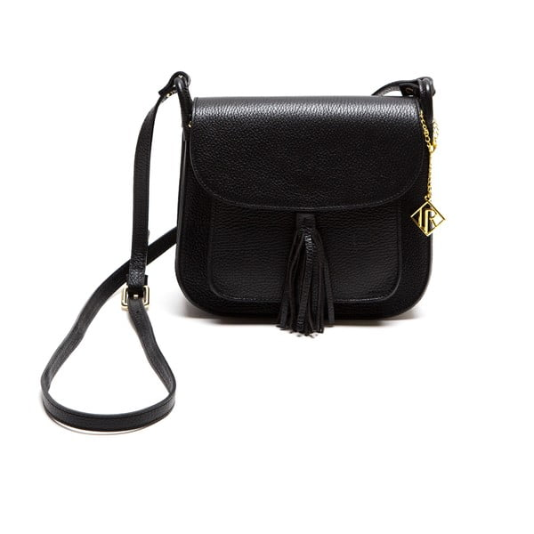 Kožená kabelka Isabella Rhea 1155, čierna