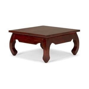 Konferenčný stolík z palisandrového dreva SOB, 60 x 60 cm