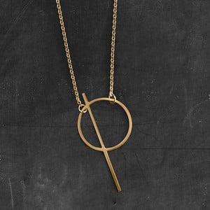 Náhrdelník Thale Gold z kolekcie Geometry