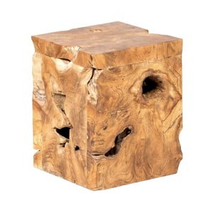 Záhradná stolička z teakového dreva Massive Home Treb Oniot