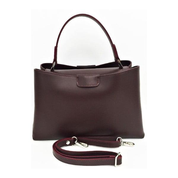 Kožená kabelka Numa Brown