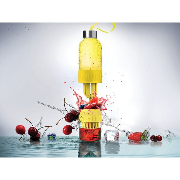 Fľaša Twist n Go Yellow