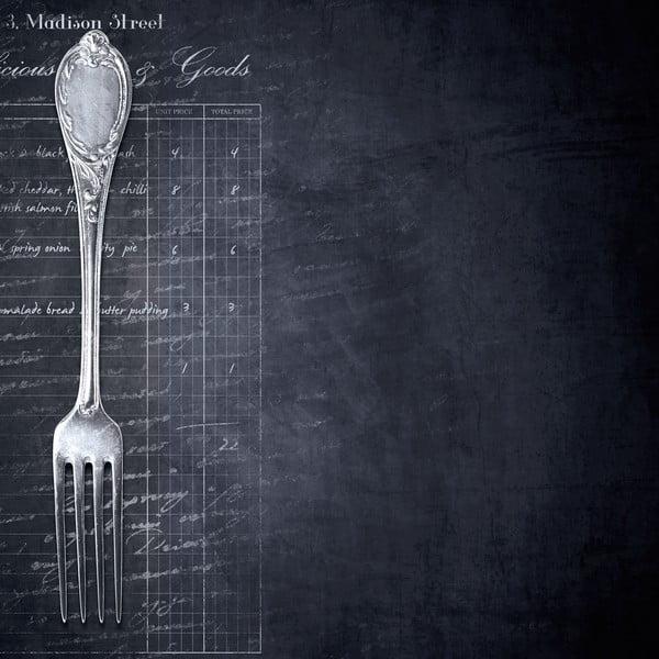 Magnetická tabuľa Eurographics Fork, 30 x 30 cm