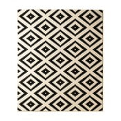 Čierny koberec Hanse Home Hamleti Diamond, 80×150cm