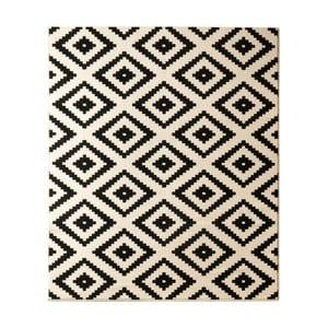 Čierny koberec Hanse Home Hamleti Diamond, 80x150cm