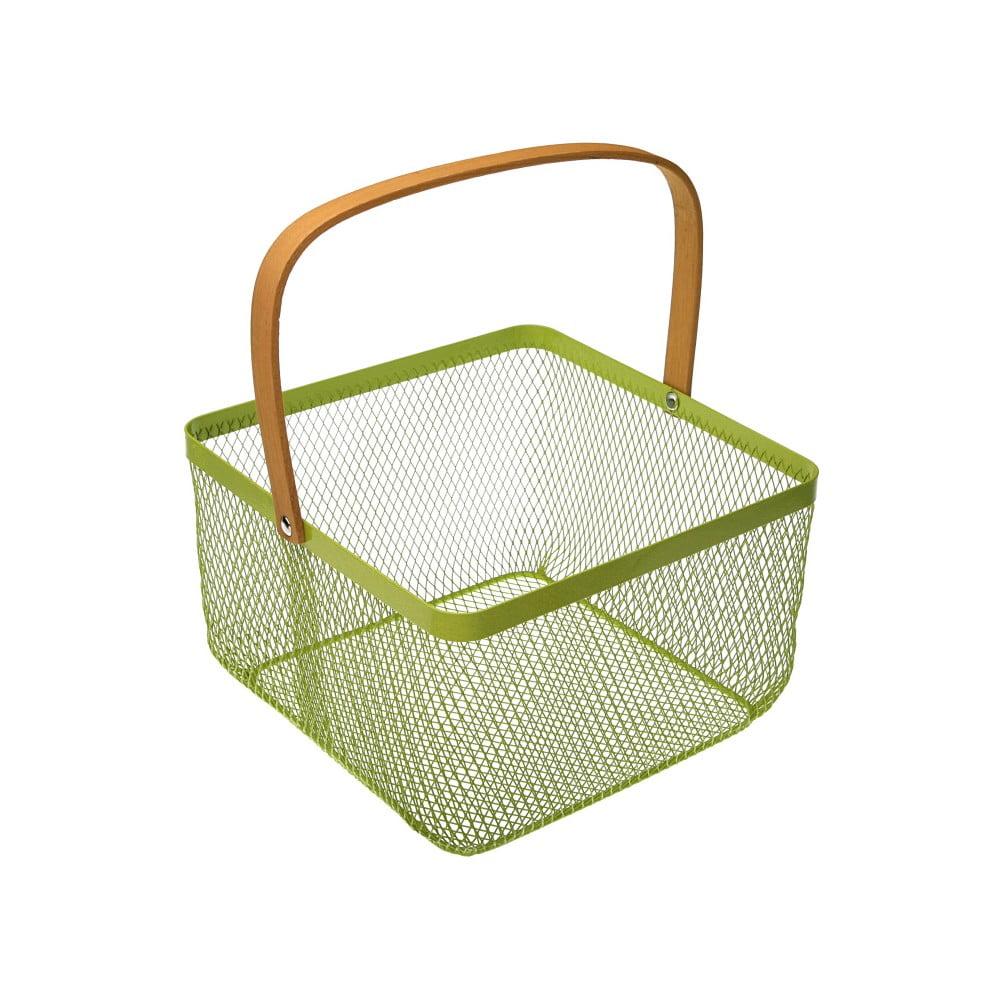 Zelený košík s uchom Versa Maroda