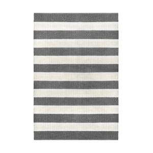 Sivý obojstranný koberec vhodný aj do exteriéru Green Decore Highway Malo, 120 × 180 cm